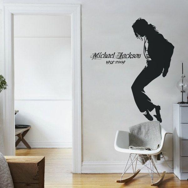 Adhesivo de Michael Jackson 2