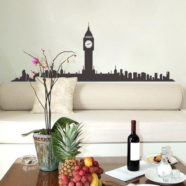 Vinilo de skyline Big Ben