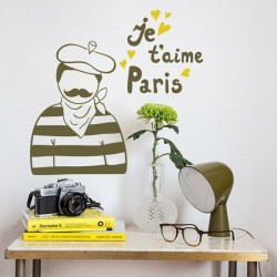 Vinilo je t'aime Paris