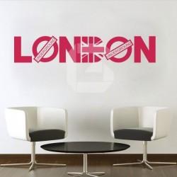 Vinilo London Underground
