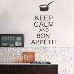 Vinilo adhesivo keep calm