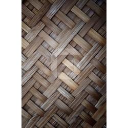 Mural de pared celosía madera