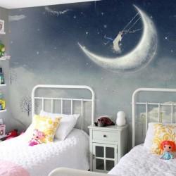 Mural decorativo paraíso lunar