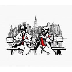 Fotomural Nueva York jazz
