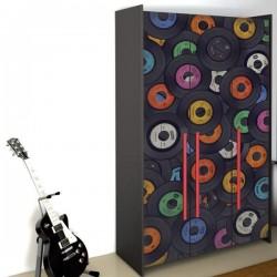 Adhesivo para muebles discos de vinilo