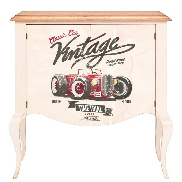 Vinilo para muebles auto vintage