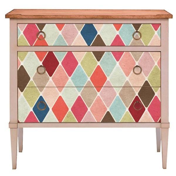 Vinilo para mueble arlequ n adhesivos decorativos for Adhesivos decorativos para muebles