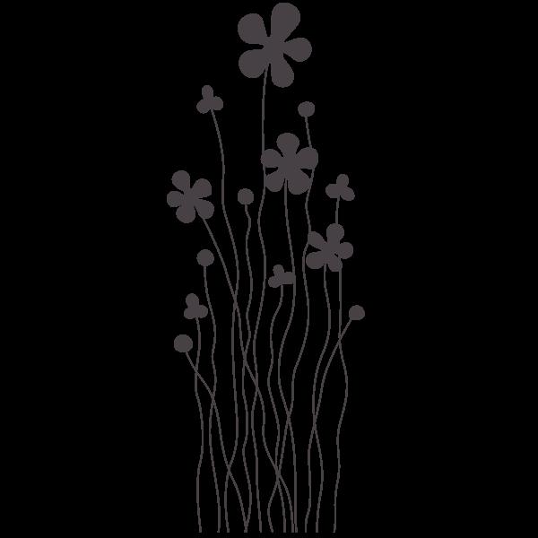 Vinilo Decorativo Flores Infantiles Adhesivos Decorativos De Pared