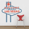 Vinilo cartel Las Vegas