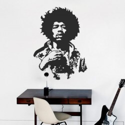 Vinilo de pared Jimmy Hendrix