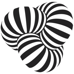 Vinilo espirales cilíndricos