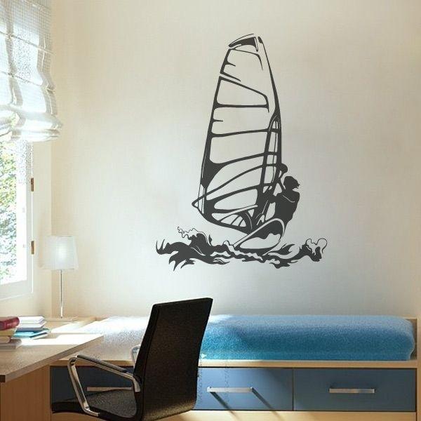 Vinilo de deporte windsurf