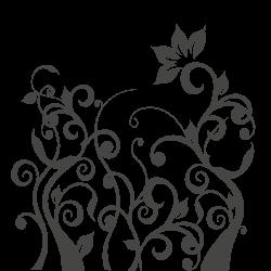 Vinilo decorativo de ramas