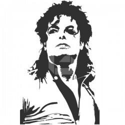 Adhesivo Michael Jackson 3