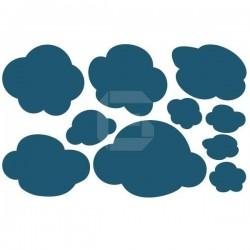 Vinilo decorativo nubes infantiles
