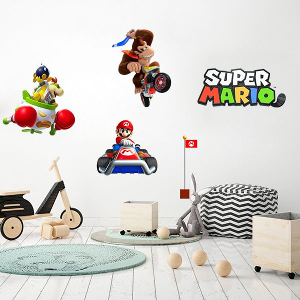 Vinilo super Mario kart