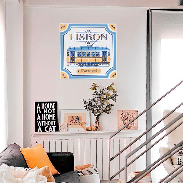 Vinilo azulejo de Lisboa