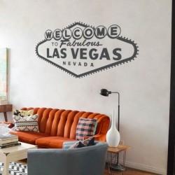 Adhesivo cartel Las Vegas 1