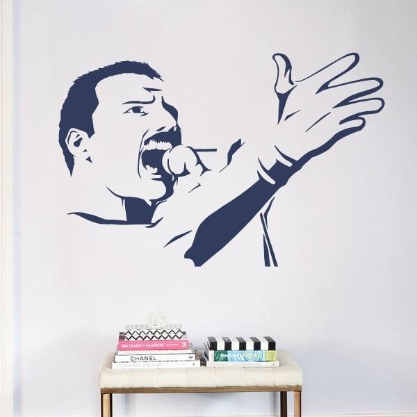 Vinilo decorativo Freddie Mercury