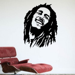 Vinilo adhesivo Bob Marley