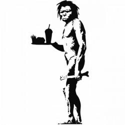 Vinilo Banksy comida rápida