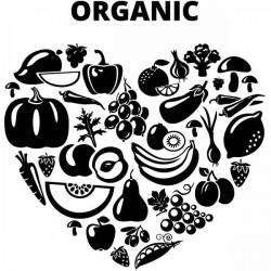 Vinilo corazón orgánico