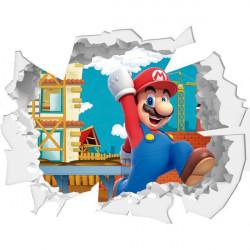 Agujero de pared Super Mario