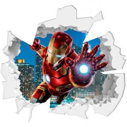 Vinilo trampantojo Iron Man