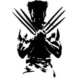 Vinilo decorativo Wolverine