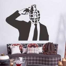 Vinilo Stencils, Bansky