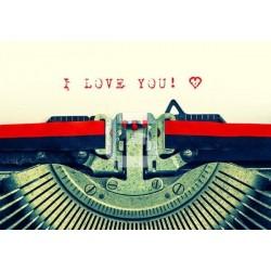 Fotomural máquina de escribir