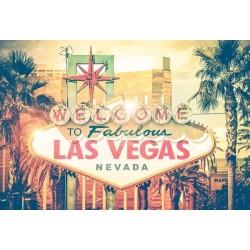 Fotomural cartel Las Vegas 2