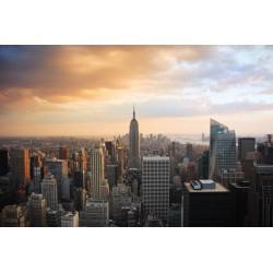 Mural panorámica de Nueva York