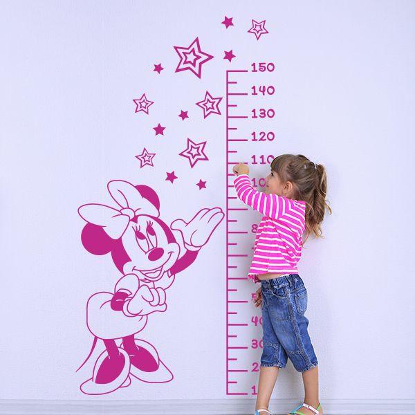 Vinilo medidor Minnie Mouse