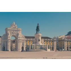 Mural Plaza del Comercio, Lisboa