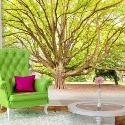 Mural en vinilo árbol...