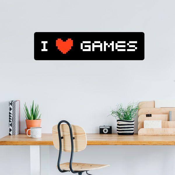 Vinilo I love games