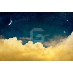 Fotomural sobre las nubes