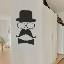 Vinilo decorativo bigote