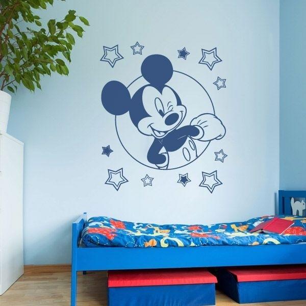 Vinilos decorativos mickey mouse vinilos personalizados for Vinilo decorativo habitacion