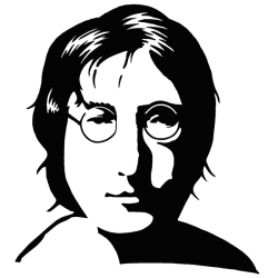 Vinilo adhesivo John Lennon