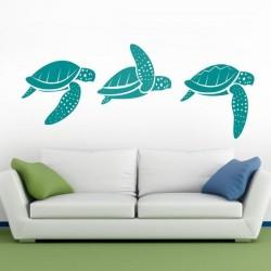 Vinilo de tortugas