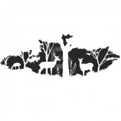 Vinilo animales salvajes