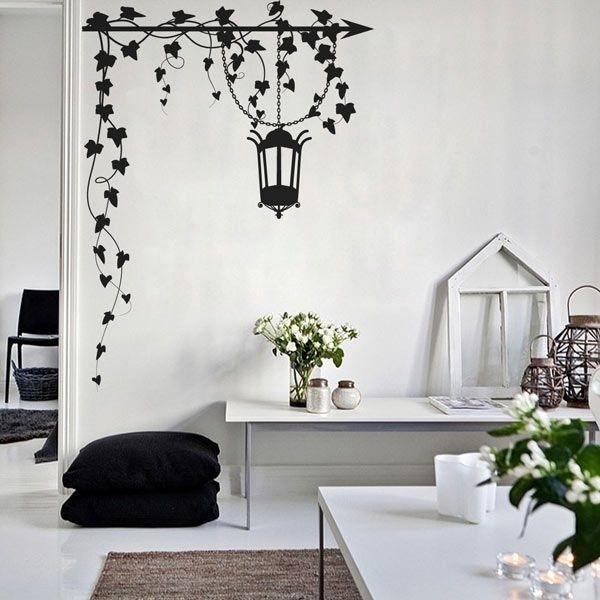 Vinilo decorativo enredaderas adhesivos de pared - Vinilo de pared decorativos ...