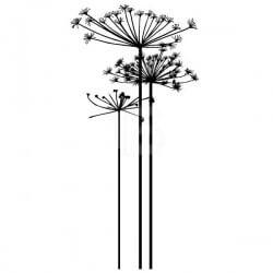 Vinilo decorativo flores 18
