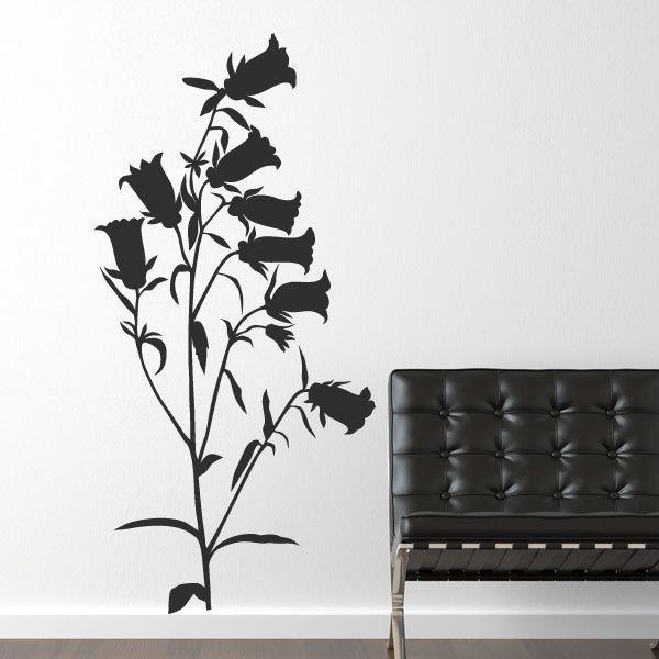 Vinilo flor abutilon 2