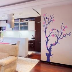 Vinilo decorativo árbol 6