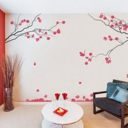 Adhesivo decorativo árbol 3