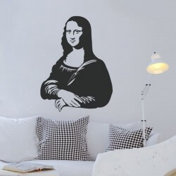 Vinilo decorativo Mona Lisa