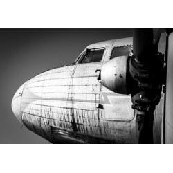 Fotomural avión vintage
